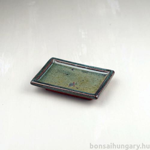Bonsai alátét - zöld, 10 cm