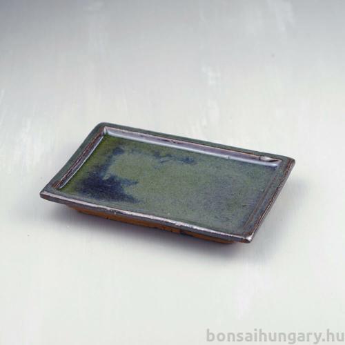 Bonsai alátét - zöld, 15 cm