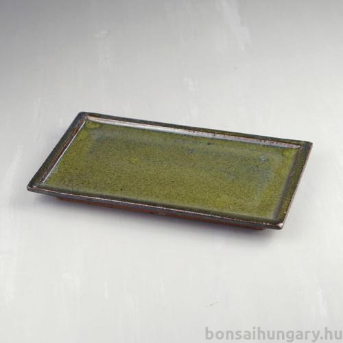 Bonsai alátét - zöld, 25 cm