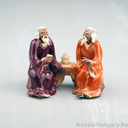 Bonsaimesterek szobor - 6 cm