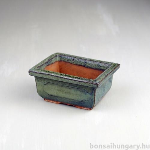Bonsai tál - zöld, 10 cm