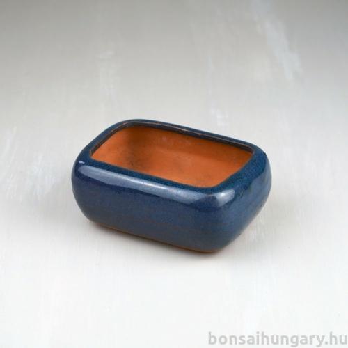 Bonsai tál - kék, 12 cm