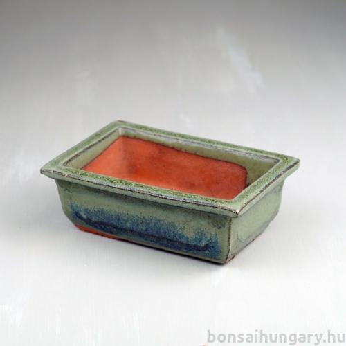 Bonsai tál - zöld, 15 cm