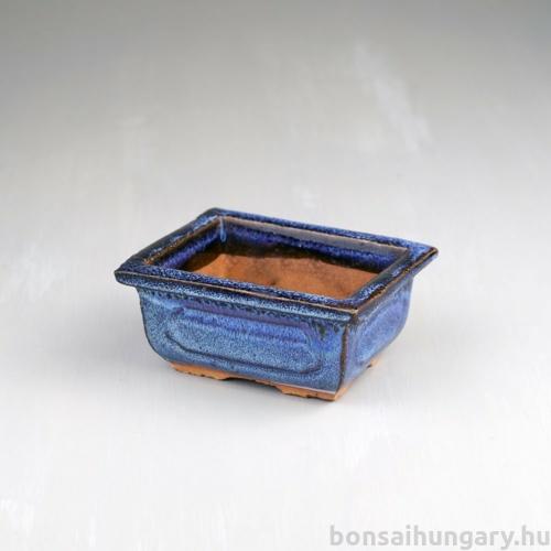 Bonsai tál - kék, 10 cm