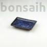 Kép 1/2 - Bonsai alátét - kék, 10 cm