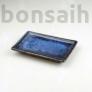 Kép 1/2 - Bonsai alátét - kék, 15 cm