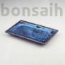 Kép 1/2 - Bonsai alátét - kék, 20 cm