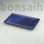 Kép 1/2 - Bonsai alátét - kék, 25 cm