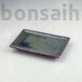 Kép 1/2 - Bonsai alátét - zöld, 15 cm