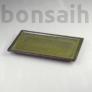 Kép 1/2 - Bonsai alátét - zöld, 25 cm