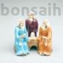 Kép 1/2 - Bonsaimesterek szobor - 7 cm