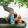 Kép 2/2 - Bonsaimester szobor - 7 cm